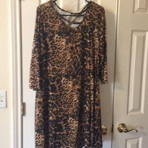Leopard Dress / Tunic